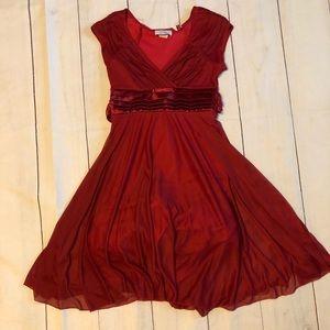 Beautiful Red Bridesmaid Dress